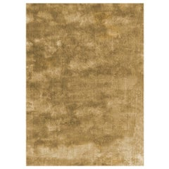 Soothing Hues Customizable Pallas Weave Rug in Cognac Small