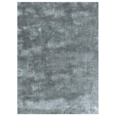 Soothing Hues Customizable Pallas Weave Rug in Frost Extra Large