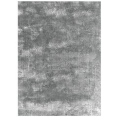 Soothing Hues Customizable Pallas Weave Rug in Silverlake Small
