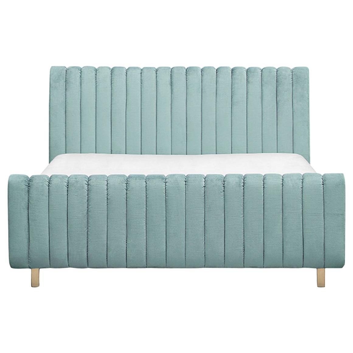 Sophia Bed in Velvet