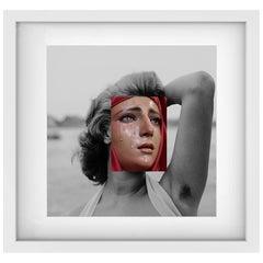 "Sophia Loren & Virgin Mary Naro Pinosa, ""Untitled"" Digital Collage, Spain, 2019"
