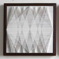 Square Cut I, Cut paper art work by Sophie Arup