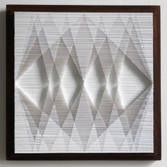 Square Cut II, Cut paper art work by Sophie Arup