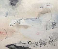 Transposition 1 / meditative, calm, serene 72 x 84 inches oil on canvas