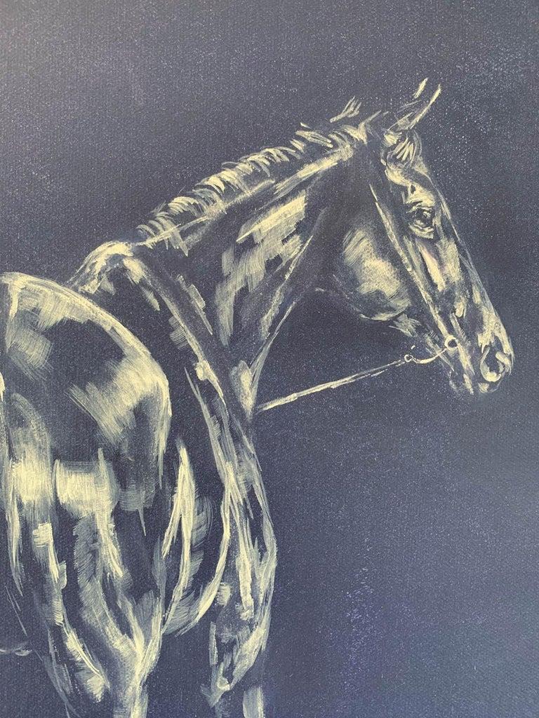 Sophie Harden, Next Lot, Horse Art for Sale, Animal Art for Sale, Original Oil For Sale 1