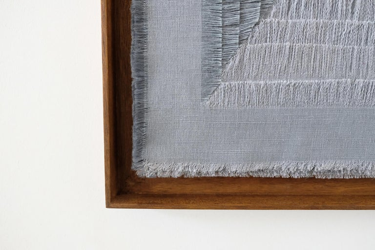 Contemporary Sophie Rowley Tapestry Model Khadi Fray, Berlin, 2019 For Sale