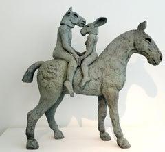Lovers on Horseback (Maquette) (B/13/02)
