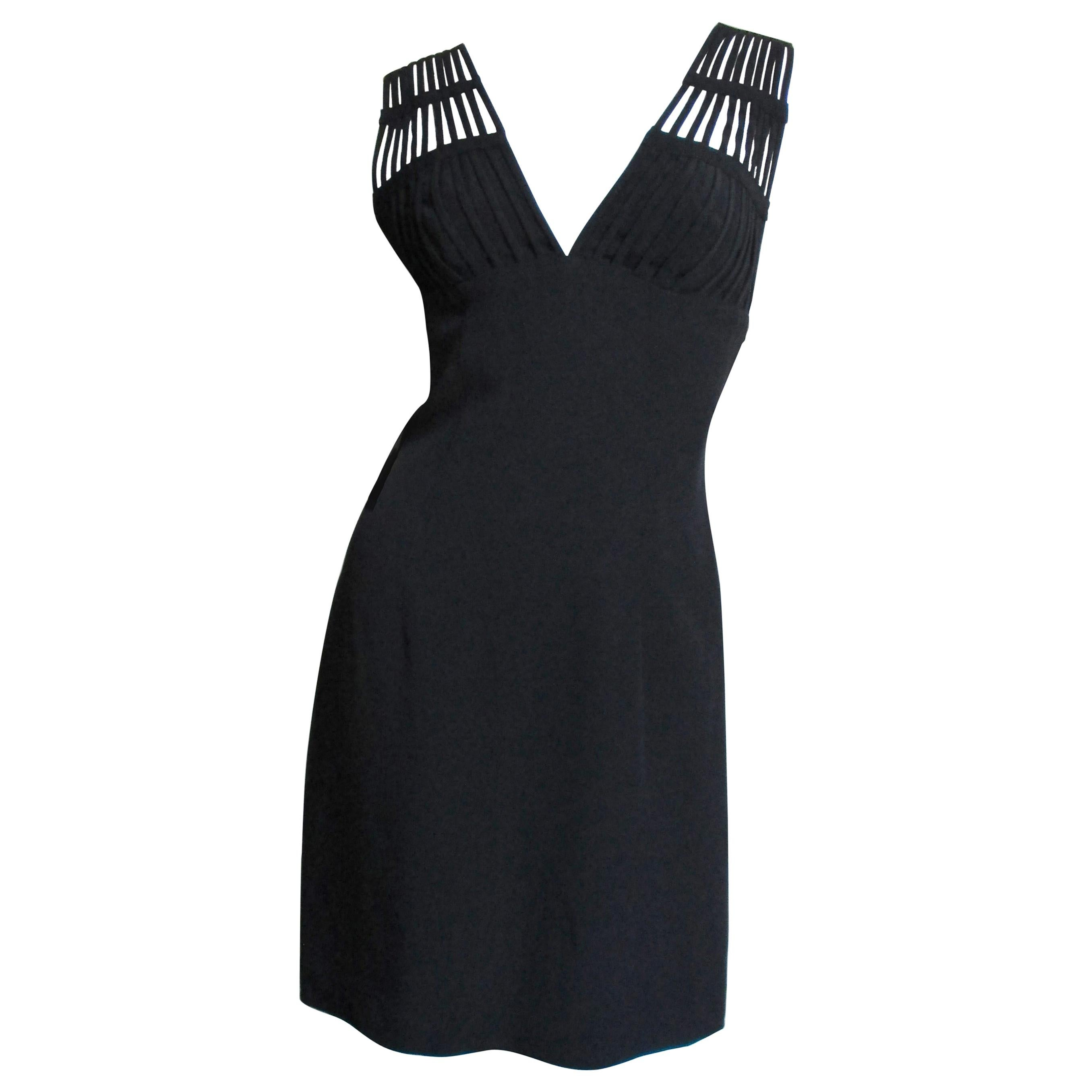 Sophie Sitbon Cage Shoulders Dress