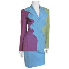 Sophie Sitbon Color Block Suit