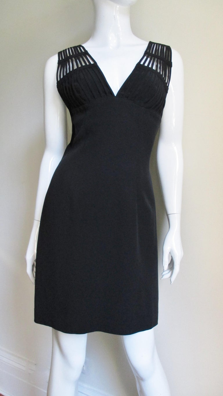 Women's Sophie Sitbon Cage Shoulders Dress For Sale