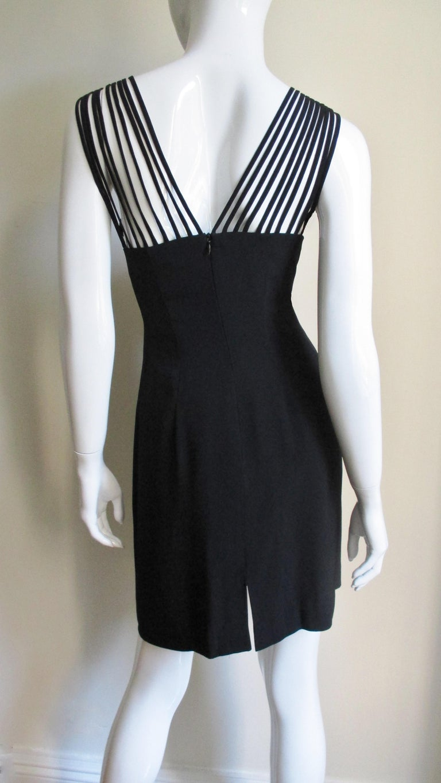 Sophie Sitbon Cage Shoulders Dress For Sale 2