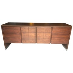 Sophisticated Mid-Century Modern Rectangular Console Cabinet