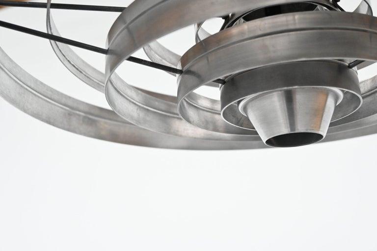 Sophus Frandsen Fibonacci Pendant Lamp Fog & Morup, Denmark, 1963 4