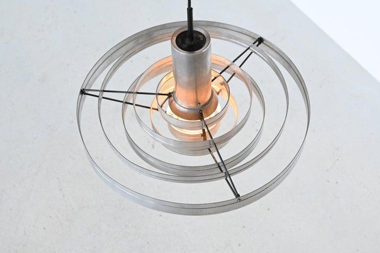 Mid-20th Century Sophus Frandsen Fibonacci Pendant Lamp Fog & Morup, Denmark, 1963