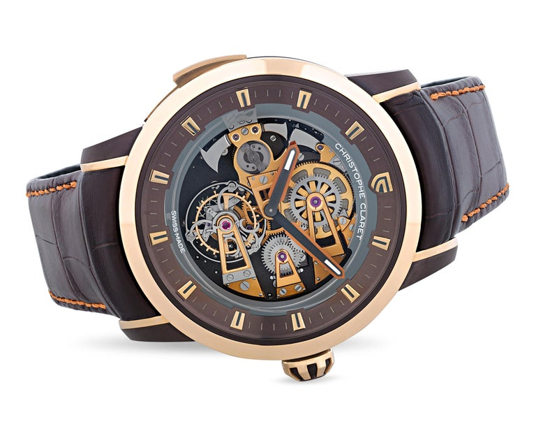 Modern Soprano Limited Edition Watch by Christophe Claret For Sale
