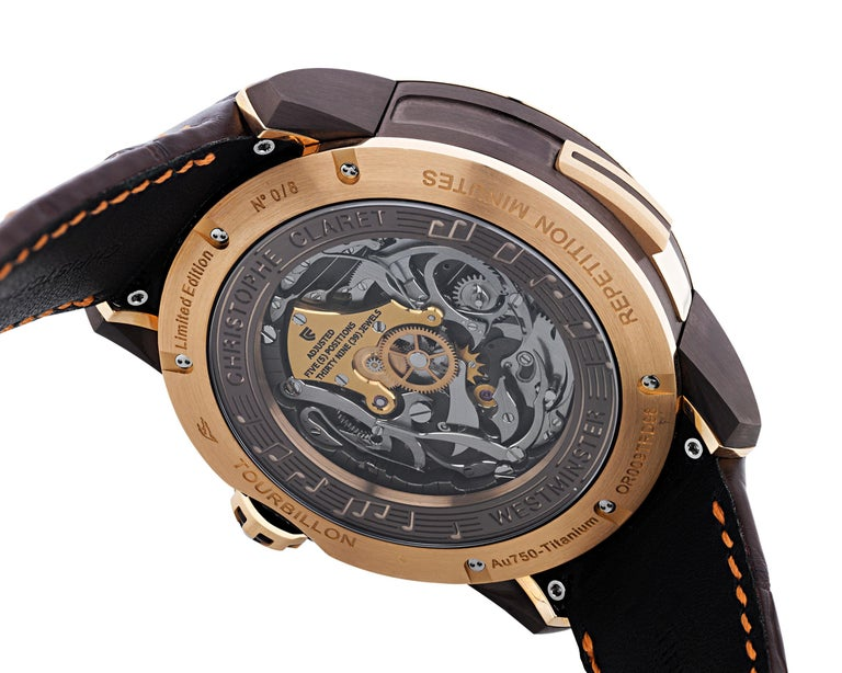 Soprano Limited Edition Watch by Christophe Claret In Excellent Condition For Sale In New Orleans, LA