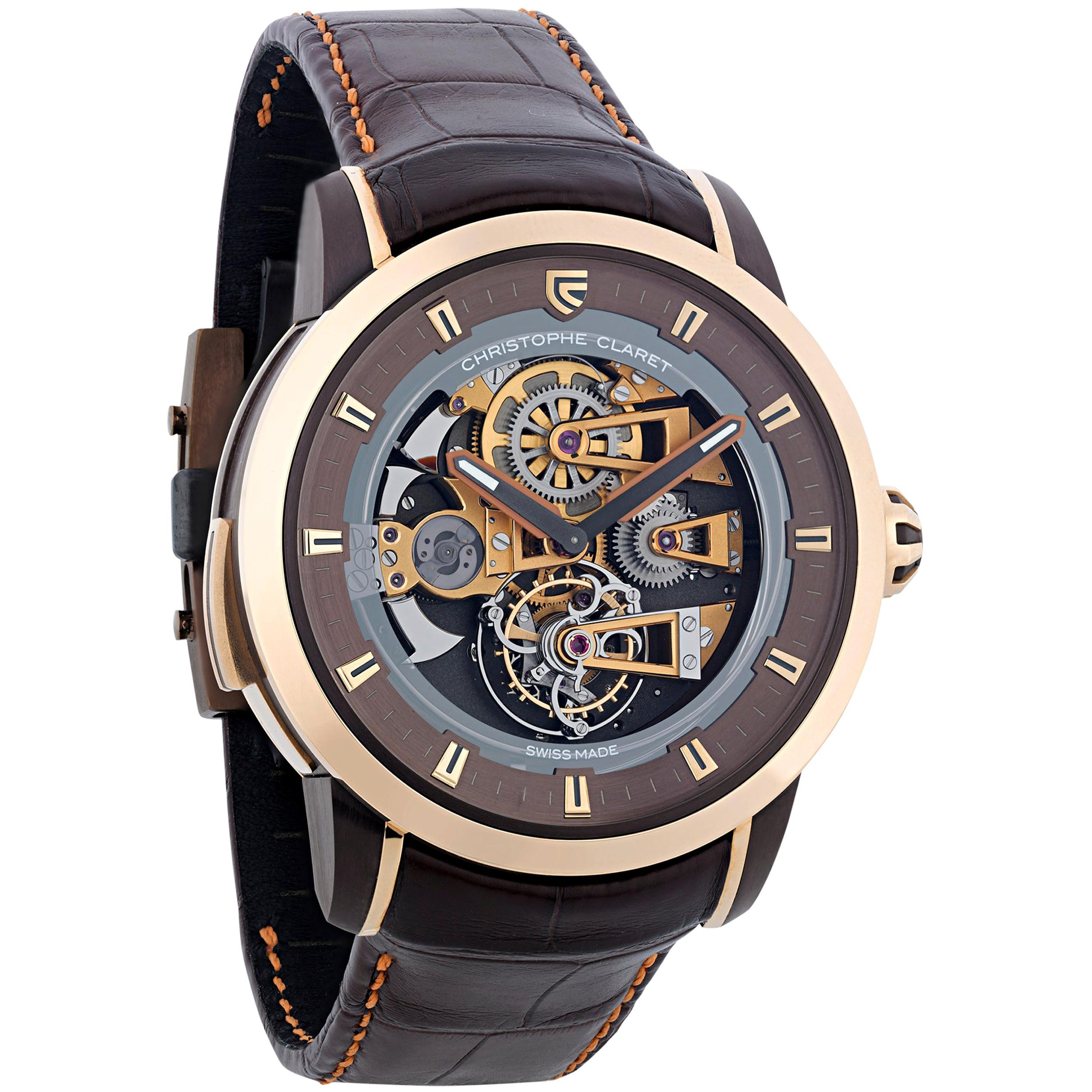 Soprano Limited Edition Watch by Christophe Claret