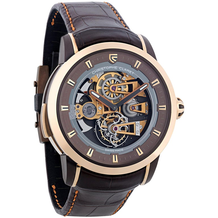 Soprano Limited Edition Watch by Christophe Claret For Sale