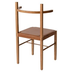 Soren Chair in Cinnamon Ashwood and Tan Leather