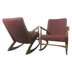 Miraculous 1960S Soren Georg Jensen Teak Rocking Chair Mod 97 Danish Lamtechconsult Wood Chair Design Ideas Lamtechconsultcom