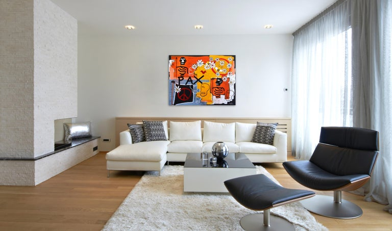 Pax - Neo-Expressionist Mixed Media Art by Soren Grau