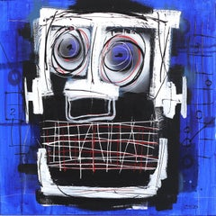 Square in the Face, Blue