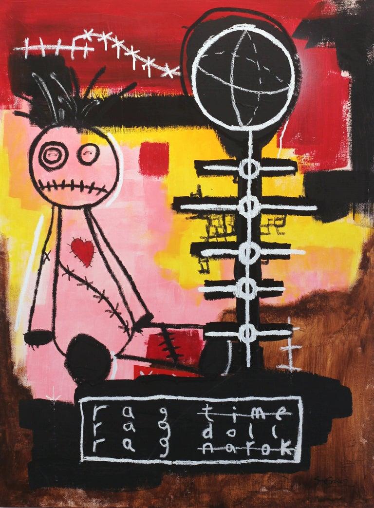 Soren Grau Ragdoll Painting For Sale At 1stdibs