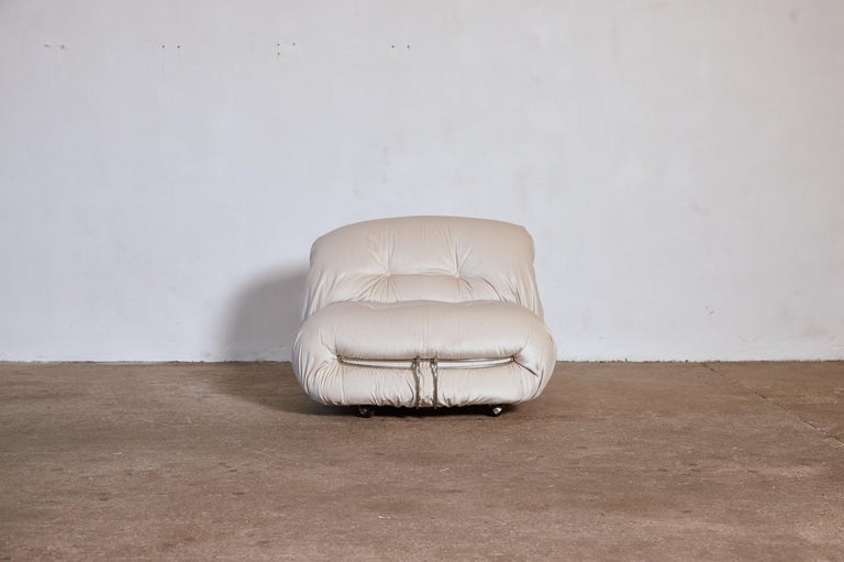 Soriana Chair by Afra & Tobia Scarpa, Cassina, Italy, 1970s For Sale 1