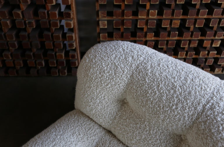 Soriana Lounge Chair and Ottoman by Afra & Tobia Scarpa for Cassina In Good Condition For Sale In Costa Mesa, CA
