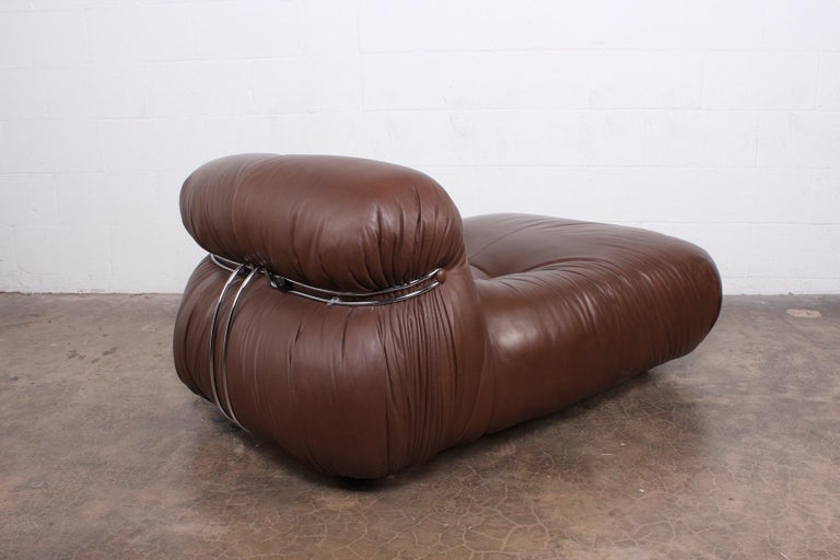 Soriana Lounge Chair by Tobia and Afra Scarpa In Good Condition For Sale In Dallas, TX