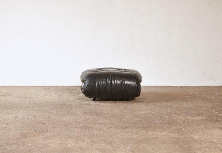 Italian Soriana Ottoman by Afra & Tobia Scarpa for Cassina, Italy, 1970s For Sale