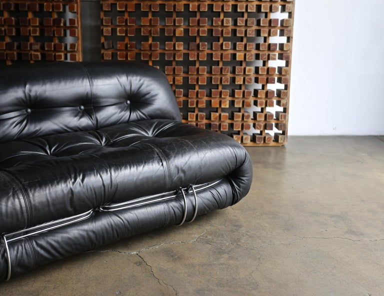 Soriana Settee by Afra & Tobia Scarpa for Cassina For Sale 2
