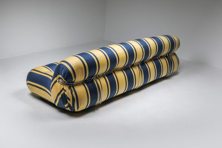 Post-Modern Soriana Sofa by Afra and Tobia Scarpa for Cassina For Sale