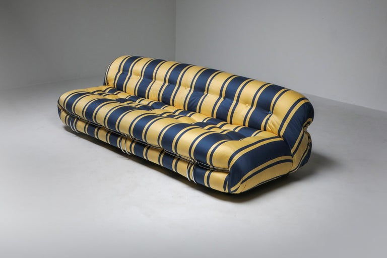 Late 20th Century Soriana Sofa by Afra and Tobia Scarpa for Cassina For Sale