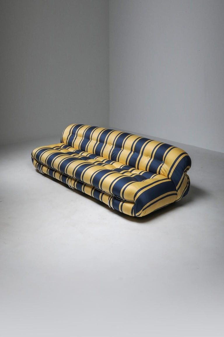 Soriana Sofa by Afra and Tobia Scarpa for Cassina For Sale 1
