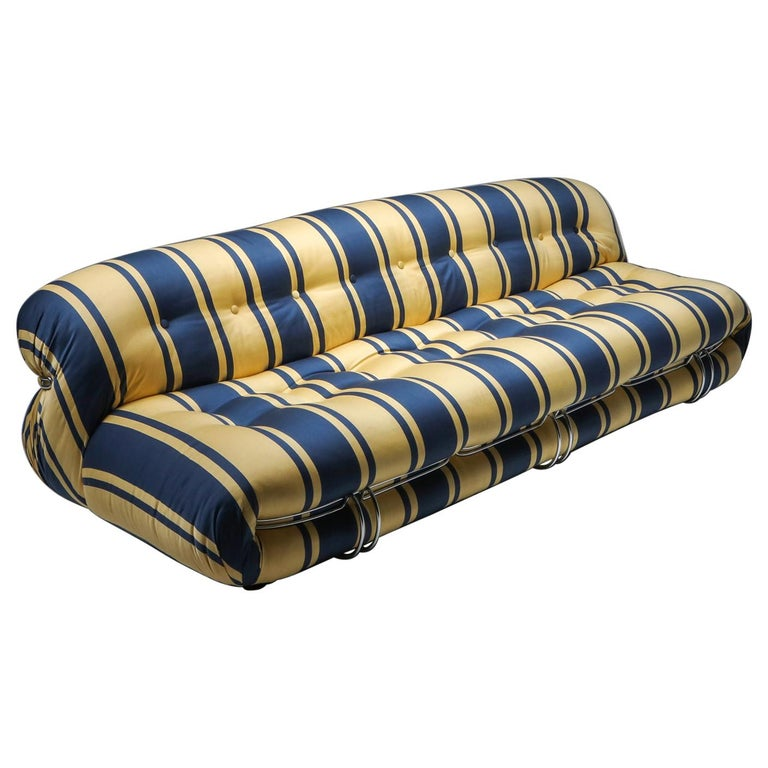 Soriana Sofa by Afra and Tobia Scarpa for Cassina For Sale