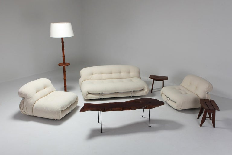 Soriana Two-Seat Sofa by Afra e Tobia Scarpa for Cassina 4