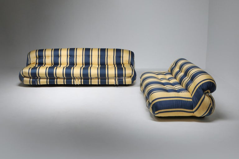 Soriana Two-Seat Sofa by Afra e Tobia Scarpa for Cassina For Sale 6