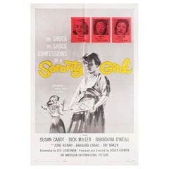"""Sorority Girl"" 1957 U.S. One Sheet Film Poster"