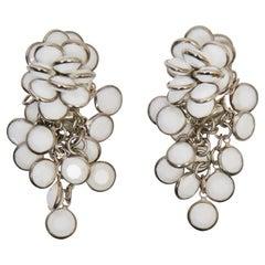 Sorrelli White Chandelier Earrings