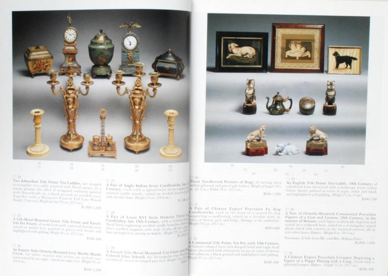 Sotheby's 1995 Catalogue, Property from the Collection of the Late Sister Parish For Sale 4