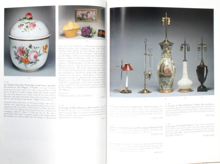 Sotheby's 1995 Catalogue, Property from the Collection of the Late Sister Parish For Sale 10