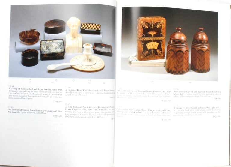 Sotheby's 1995 Catalogue, Property from the Collection of the Late Sister Parish For Sale 14