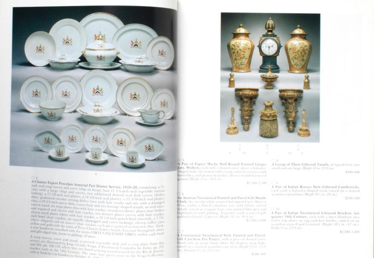 20th Century Sotheby's 1995 Catalogue, Property from the Collection of the Late Sister Parish For Sale