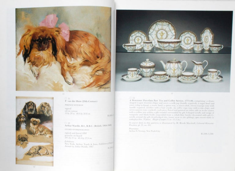 Sotheby's 1995 Catalogue, Property from the Collection of the Late Sister Parish For Sale 1