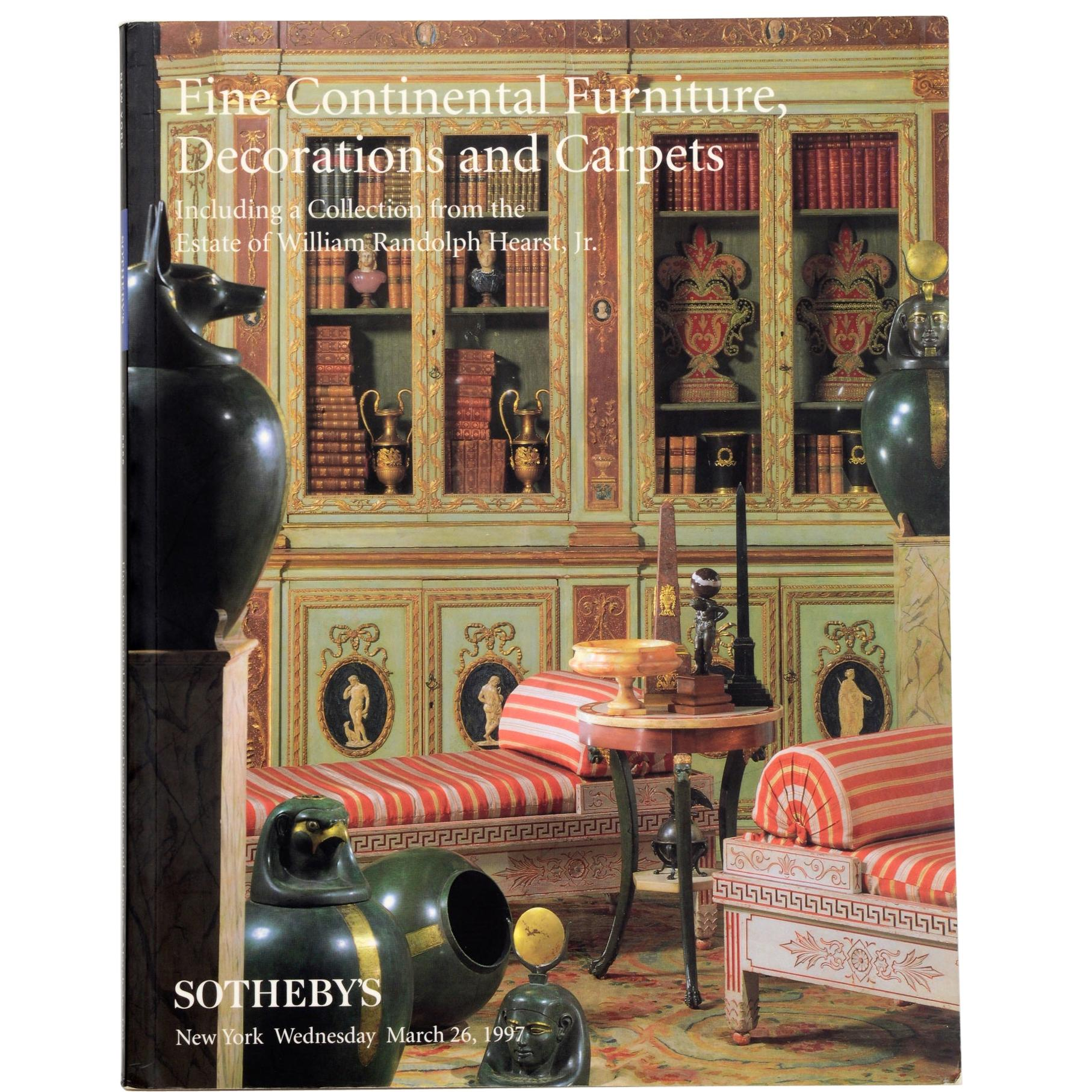 Sotheby's A Collection from The Estate of William Randolph Hearst, Jr.