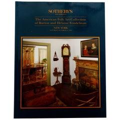 Sotheby's American Folk Art Collection Burton and Helaine Fendelman NY Oct 1993
