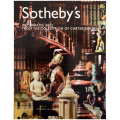 Sotheby's Auction Catalog Decorative Arts Collection of Carter Burden, 2003