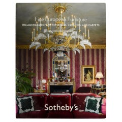 Sotheby's Auction Catalog Fine European Furniture Ny October 2008