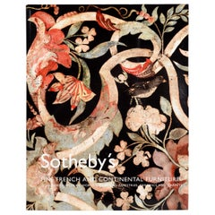 Sotheby's Fine French and Continental Furniture Including European Works of Art